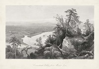 Connecticut Valley from Mount Tom Fine Art Print