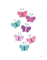 Butterfly Friends Girly Fine Art Print