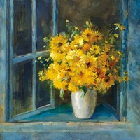Sunny Windowsill Fine Art Print