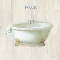 Farmhouse Bathtub Soak Fine Art Print