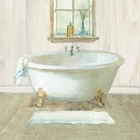 Farmhouse Bathtub Framed Print