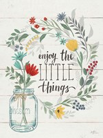 Blooming Thoughts II Wall Hanging Fine Art Print