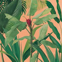 Dramatic Tropical I Boho Framed Print