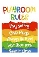 Playroom Rules Fine Art Print