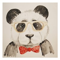 Smart Panda Fine Art Print