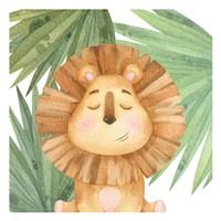 Goodnight Jungle 3 Framed Print