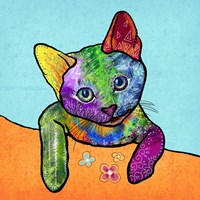 Colorful Pets II Fine Art Print