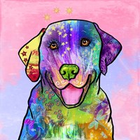 Colorful Pets IV Fine Art Print