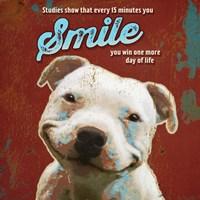 Pet Sentiment I-Smile Framed Print