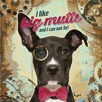 Pet Sentiment II-Big Mutts Fine Art Print