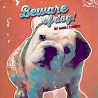 Pet Sentiment III-Beware Fine Art Print