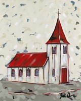 Here is the Church Framed Print