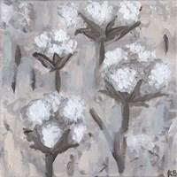Cotton Stalks I Fine Art Print