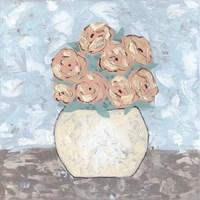 Sketchy Floral Vase Fine Art Print