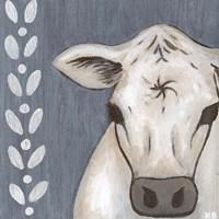 Paint Splotch Cow Fine Art Print
