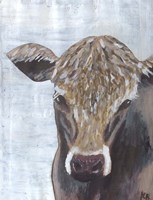 Brown Cow Fine Art Print