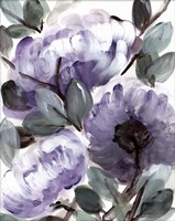 Farmhouse Bush Purple II Framed Print