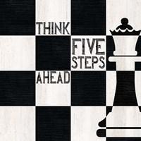 Chessboard Sentiment II-Five Steps Fine Art Print