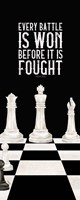 Rather be Playing Chess Panel I-Every Battle Fine Art Print