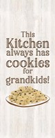 Grandparent Life Vertical I-Cookies Fine Art Print