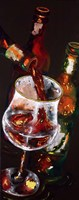 Pouring Ruby Fine Art Print