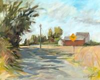 Dry Slough Road Fine Art Print