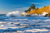 Capitola Cliffs & Waves Fine Art Print