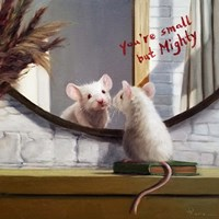 Mighty Mouse Fine Art Print