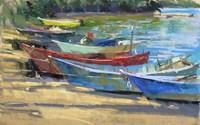 Fishing Boats Marta Fine Art Print