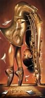 Balletic Tune Fine Art Print