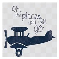Air Plane Go Fine Art Print