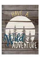 Wild Adventure 1 Framed Print