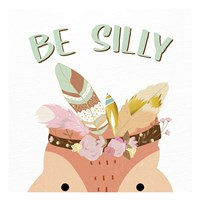 Be Silly 1 Framed Print