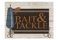 Bait and Tackle V2 Framed Print