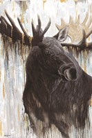 Gilded Moose Fine Art Print