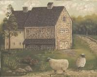 Stone Barn Fine Art Print