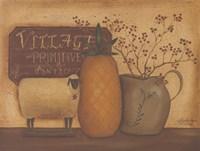 Sheep and Pineapple Fine Art Print