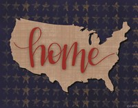 USA Home Fine Art Print
