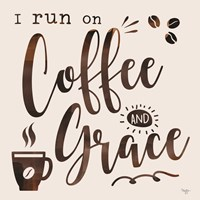 Coffee and Grace Framed Print