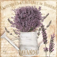 French Lavender Framed Print