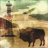 Texas Prairie II Framed Print