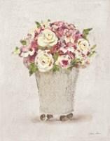 Parlor Roses I Light Fine Art Print