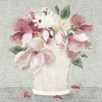 Cottage Bouquet II Light Fine Art Print