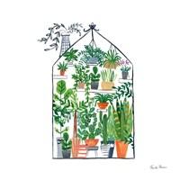 Greenhouse I Framed Print