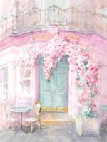 Pastel Paris IV Framed Print