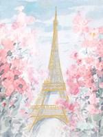 Pastel Paris III Framed Print