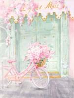 Pastel Paris I Framed Print