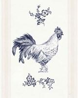 Summer Chickens I Framed Print