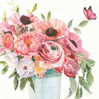 Boho Bouquet  XIII Fine Art Print