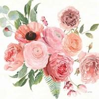 Boho Bouquet  VIII Framed Print
